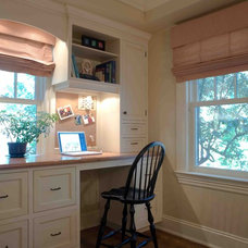 Traditional Kitchen by JWH Design and Cabinetry LLC