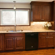 Traditional Kitchen by Excel Builders