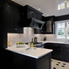 Contemporary Kitchen by Artistic Tile
