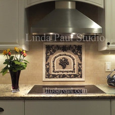 Contemporary Kitchen by Linda Paul