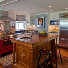 Eclectic Kitchen by Chatfield Design