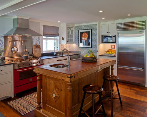 Eclectic portland maine kitchen design ideas remodel pictures houzz - Kitchen design portland maine ...