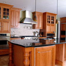 Traditional Kitchen by Camelot Custom Building