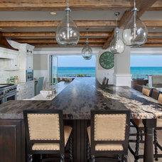 Beach Style Kitchen by James Glover Residential & Interior Design