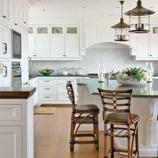 Beach Style Kitchen by Kotzen Interiors, LLP