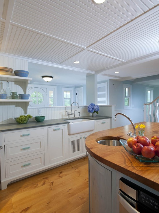 good colors for a kitchen curved beadboard ceiling houzz 6873