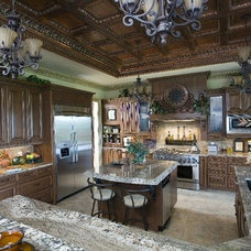 Mediterranean Kitchen by Unique Concepts Staircases & Railings