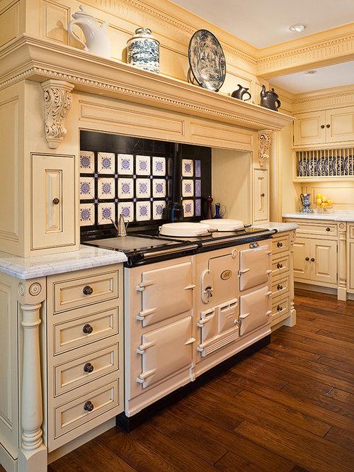 Aga surround home design ideas renovations photos for Aga kitchen design ideas