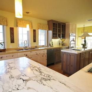 Cheerful Modern Rustic Kitchen