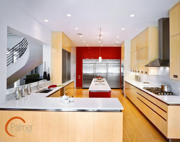 Modern Kitchen by Palmer Todd