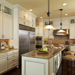 traditional kitchen by Interiors by Cary Vogel