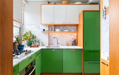 How to Design a Kitchen With Green Cabinets