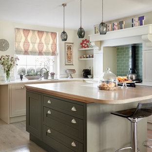 Mid Sized Eclectic Kitchen Designs   Kitchen   Mid Sized Eclectic L Shaped