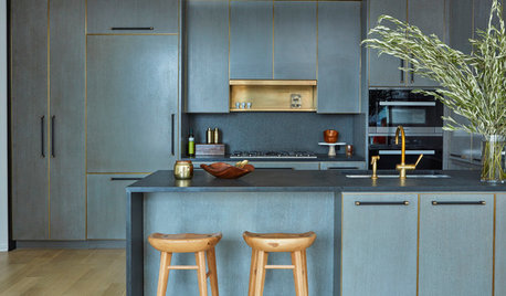 Make a Splash in Your Kitchen With a Waterfall Countertop