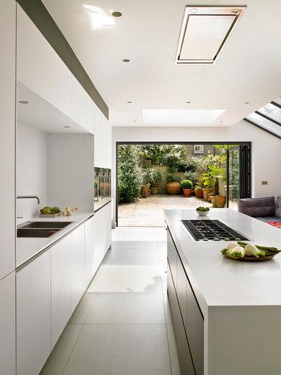 Nett Kleine Küche Renovierungen Melbourne Zeitgenössisch - Küchen ...