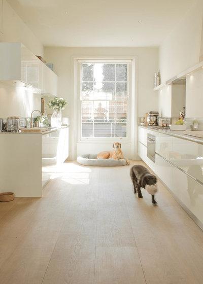 Transitional Kitchen by Nash Baker Architects
