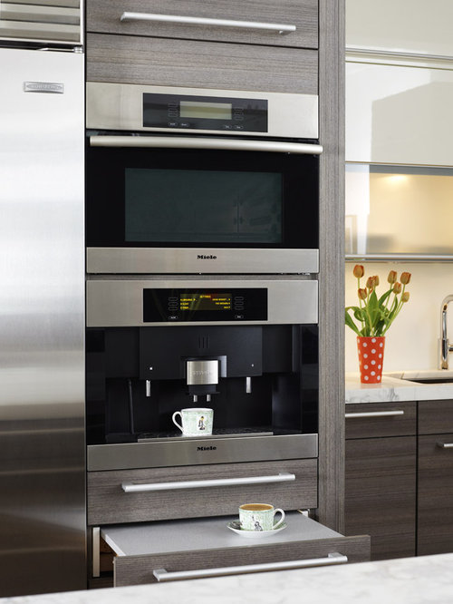 Best Built In Coffee Maker Design Ideas & Remodel Pictures ...