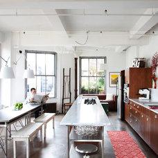 Industrial Kitchen by Ira Frazin Architect