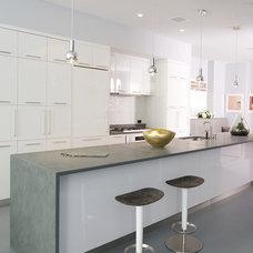 Contemporary Kitchen by Betty Wasserman