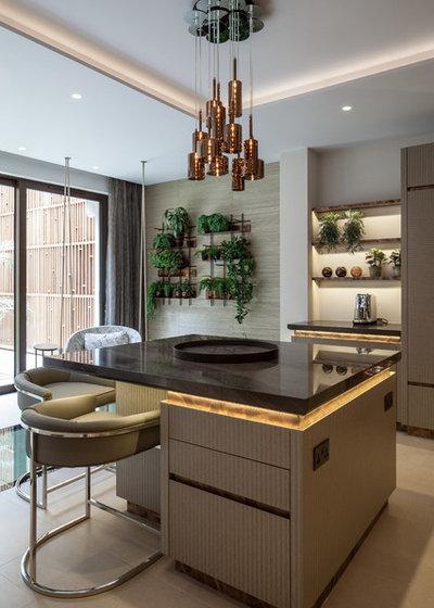 Contemporary Kitchen by Vastu Interior Design Ltd