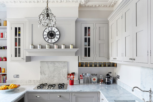 Transitional Kitchen by NBB Design