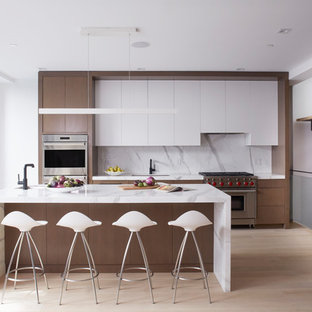 75 Beautiful Kitchen With Brown Cabinets Pictures Ideas January 2021 Houzz