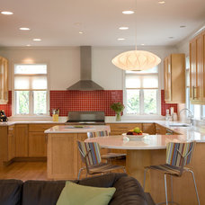 Transitional Kitchen by ART Design Build