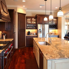 Traditional Kitchen by Custom Designs Cabinetry