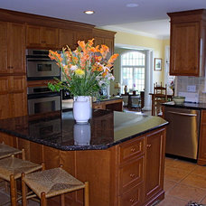 Traditional Kitchen by Berg Building + Design