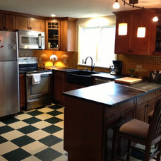 Farmhouse Kitchen by Lowes of Epping NH