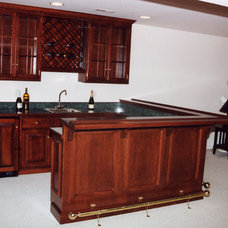 Traditional Kitchen by TL King Cabinetmakers