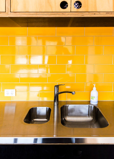 Contemporary Kitchen by Skookom