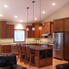 Craftsman Kitchen by Braaten Cabinets