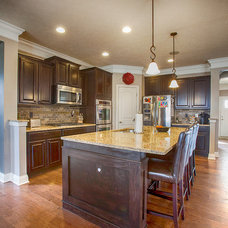 Transitional Kitchen by The WAIRE Group