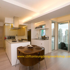 Contemporary Kitchen by Clifton Leung Design Workshop - CLDW.com.hk