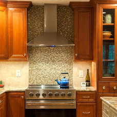Transitional Kitchen by White Wood Kitchens