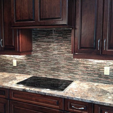 Contemporary Kitchen by Hawkins Cabinetry and Design