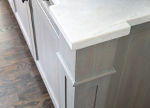 what is the counter top material on the island, it is beautiful