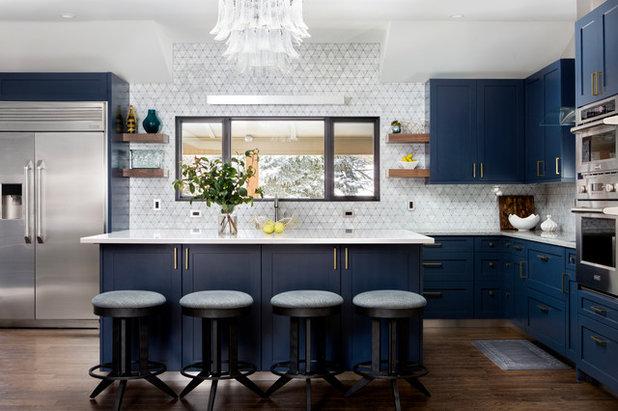 Transitional Kitchen by Watson & Co