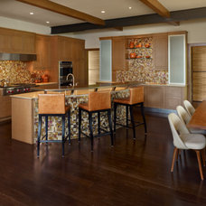 Eclectic Kitchen by Ekman Design Studio