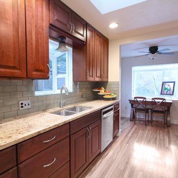 Cherry Kitchen Cabinets | Carlton Door Style | CliqStudios