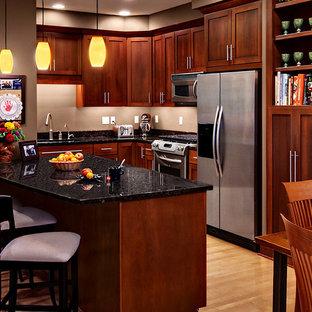 Cherry Cabinets Kitchen   Houzz