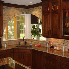 Traditional Kitchen by Cabinets Custom to Carolina Cabinet Specialist