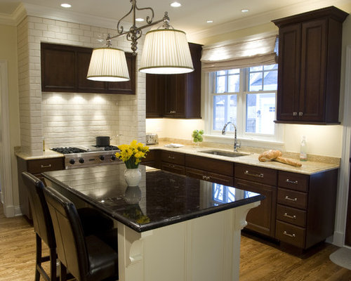saveemail - Kitchen Backsplash With Dark Cabinets