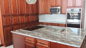 Cherry Kitchen with Double Island