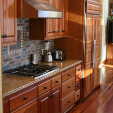 Traditional Kitchen Cabinetry by Northland Woodworks Inc