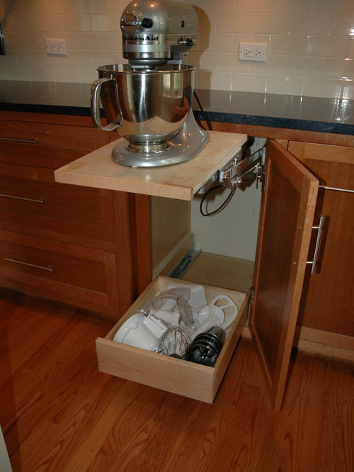 Stand Mixer Storage Home Design Ideas Pictures Remodel