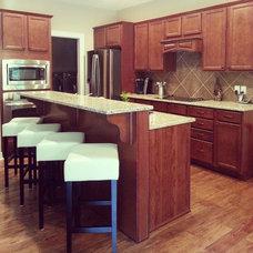 Contemporary Kitchen by Cherry Ridge Construction