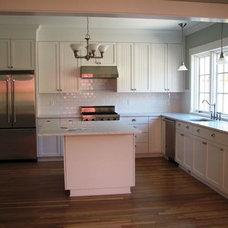 Traditional Kitchen by DLK Design Studio