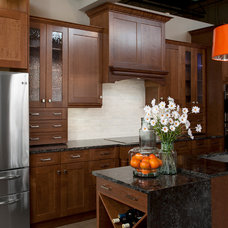 Transitional Kitchen by Raywal Cabinets